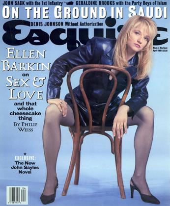 Cover for the April 1991 issue