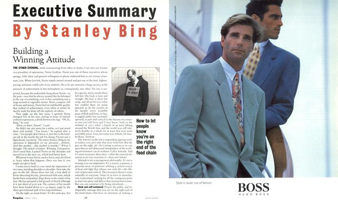 Article Preview: Uilding a Winning Attitude, April 1991 1991 | Esquire