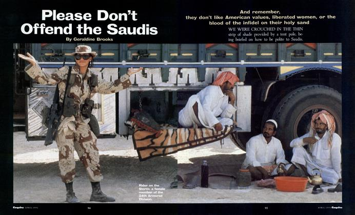 Please Don't Offend the Saudis