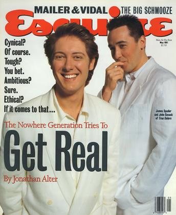 Cover for the May 1991 issue