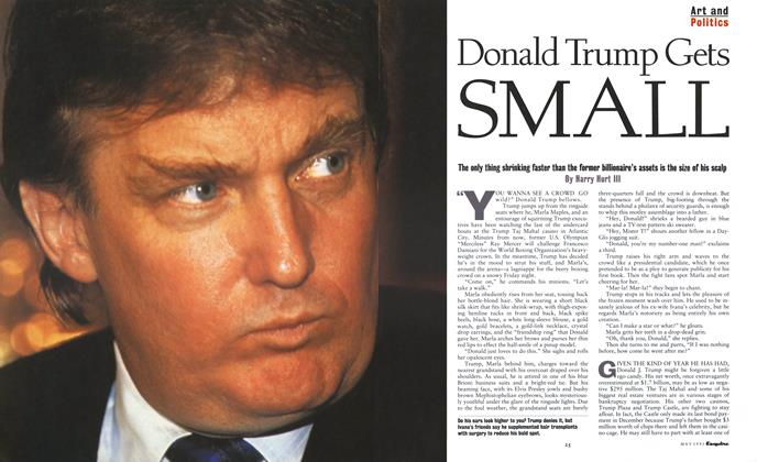 Article Preview: Donald Trump Gets Small, May 1991 1991 | Esquire