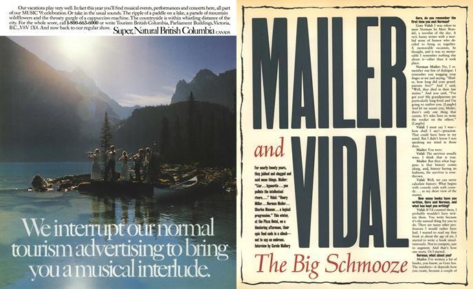 Mailer and Vidal: The Big Schmooze