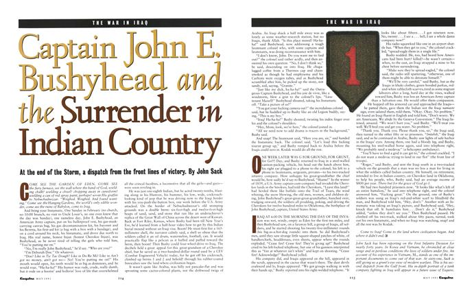 Article Preview: Captain John E. Bushyhead and the Surrender in Indian Country, May 1991 1991 | Esquire