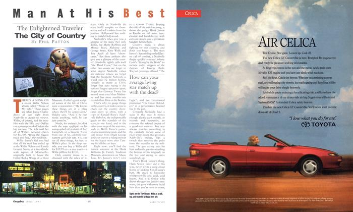 Article Preview: The City of Country, June 1991 1991 | Esquire