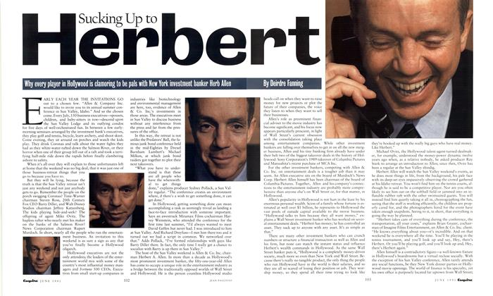 Article Preview: Sucking Up to Herbert, June 1991 | Esquire