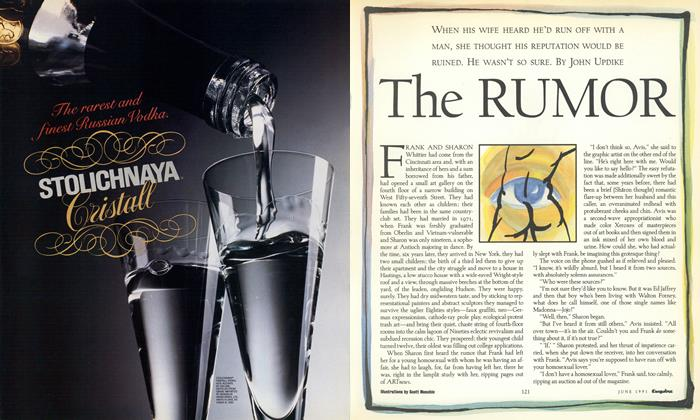 Article Preview: The Rumor, June 1991 1991 | Esquire