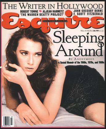 Cover for the July 1991 issue