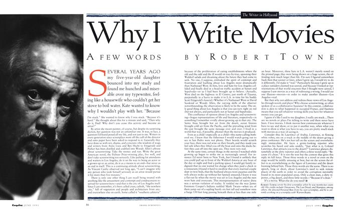 Article Preview: Why I Write Movies, July 1991 | Esquire