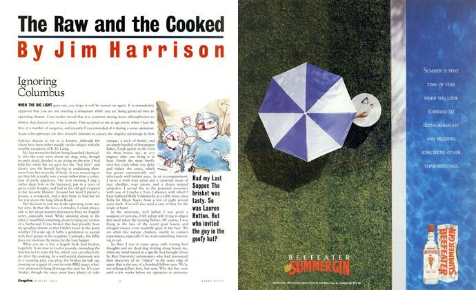 Article Preview: Ignoring Columbus, AUGUST 1991 1991 | Esquire