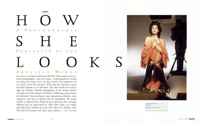 Article Preview: How She Looks, AUGUST 1991 1991 | Esquire