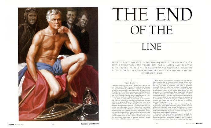 Article Preview: The End of the Line, August 1991 | Esquire