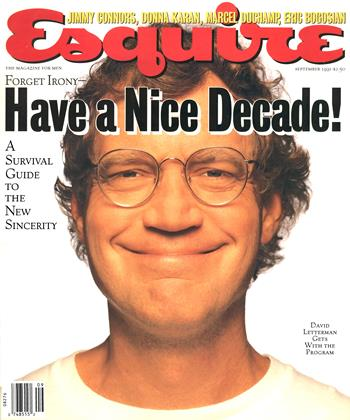 Cover for the September 1991 issue