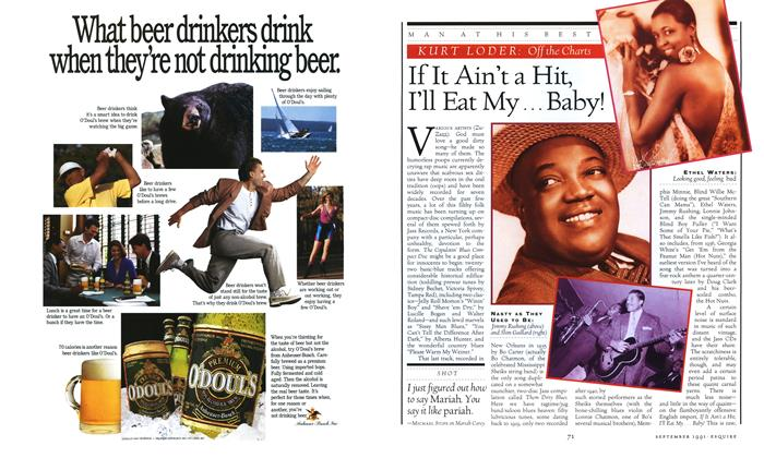 Article Preview: If It Ain't a Hit, I'll Eat My... Baby!, SEPTEMBER 1991 1991 | Esquire