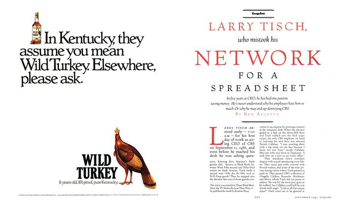 Larry Tisch, Who Mistook His Network for a Spreadsheet