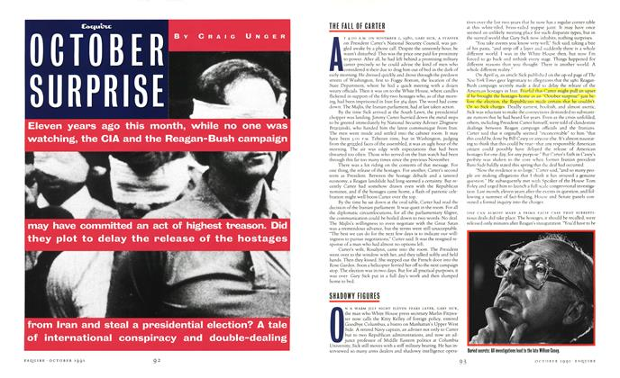 Article Preview: October Surprise, October 1991 | Esquire