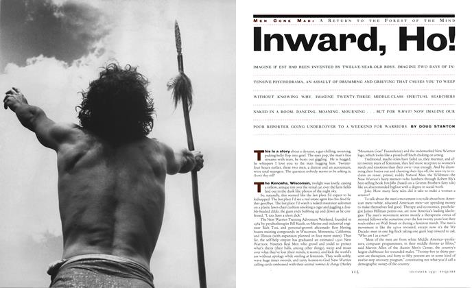Article Preview: Inward, Ho!, October 1991 | Esquire