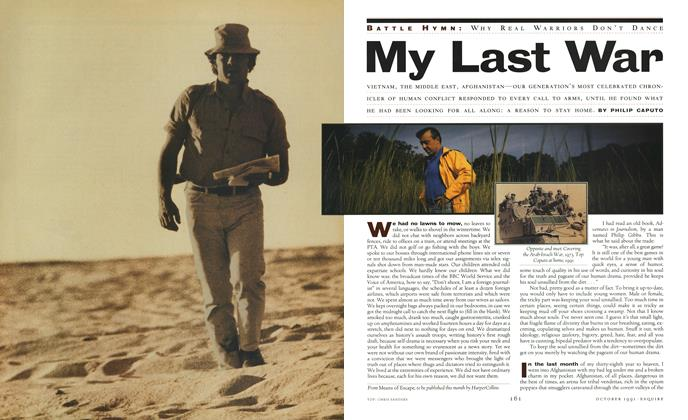 Article Preview: My Last War, October 1991 | Esquire