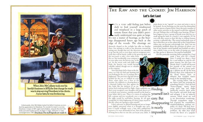 Article Preview: Let's Get Lost, NOVEMBER 1991 1991   Esquire
