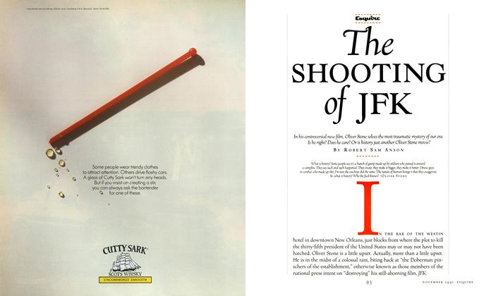 Article Preview: The Shooting of JFK, November 1991 | Esquire