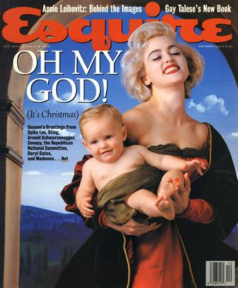Cover for the December 1991 issue