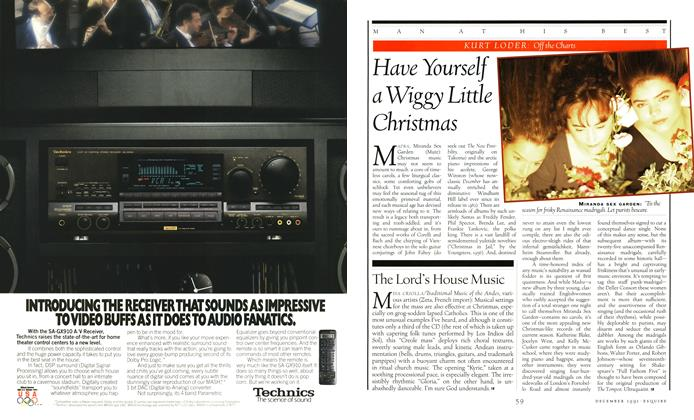 Article Preview: Have Yourself a Wiggy Little Christmas, DECEMBER 1991 1991 | Esquire