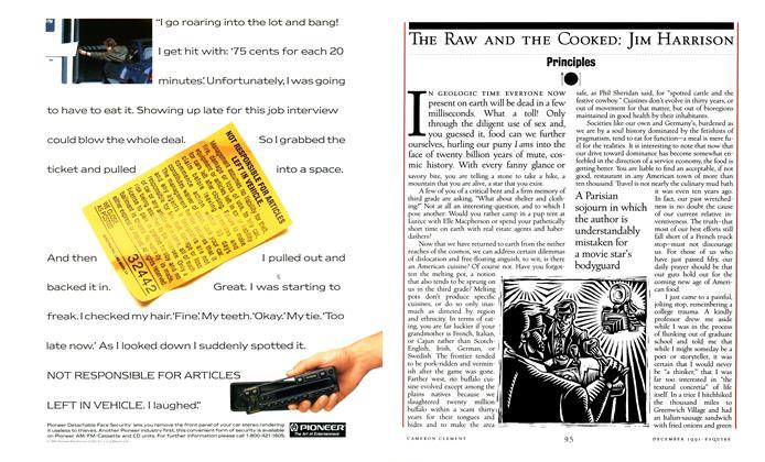 Article Preview: Principles, DECEMBER 1991 1991 | Esquire