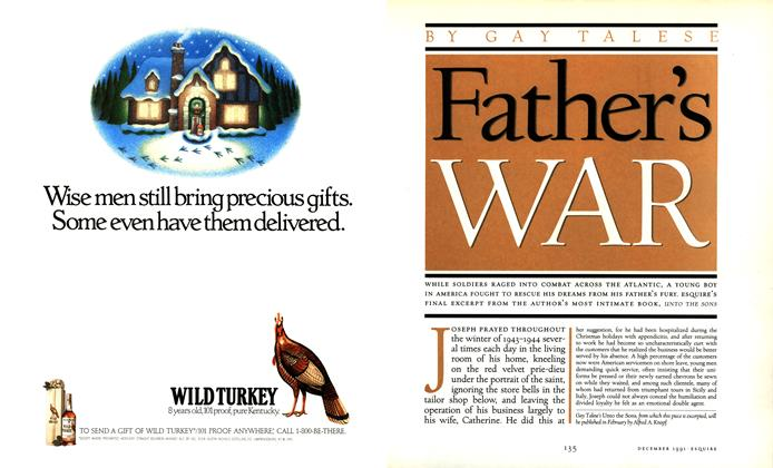 Article Preview: Father's War, December 1991 | Esquire