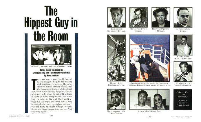 Article Preview: The Hippest Guy in the Room, December 1991 | Esquire