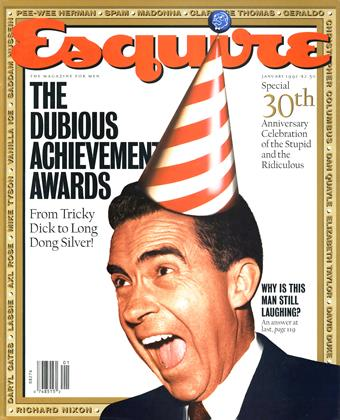 Cover for the January 1992 issue