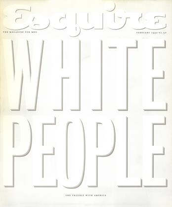 Cover for the February 1992 issue