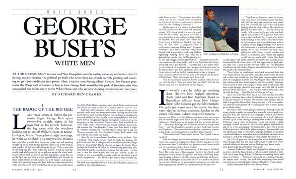 George Bush's White Men - February | Esquire