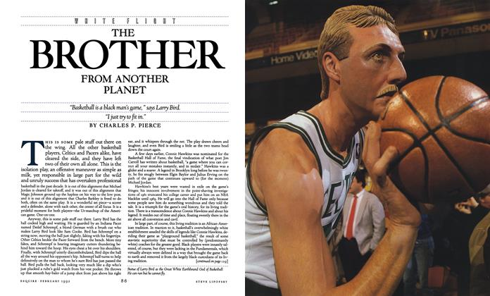 Article Preview: The Brother From Another Planet, February 1992 | Esquire
