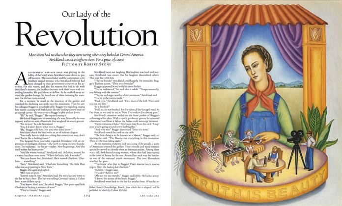 Article Preview: Our Lady of the Revolution, February 1992 | Esquire