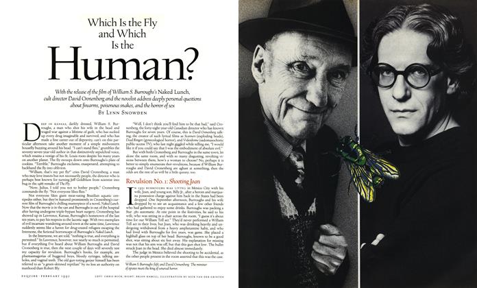 Article Preview: Which Is the Fly and Which Is the Human?, February 1992 | Esquire