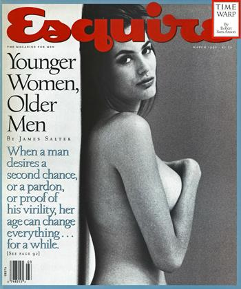 Cover for the March 1992 issue