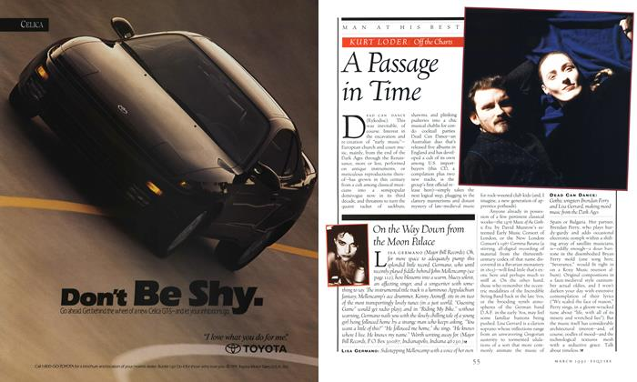 Article Preview: A Passage in Time, MARCH 1992 1992 | Esquire