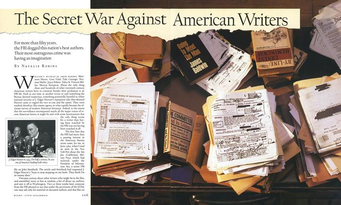 The Secret War Against American Writers