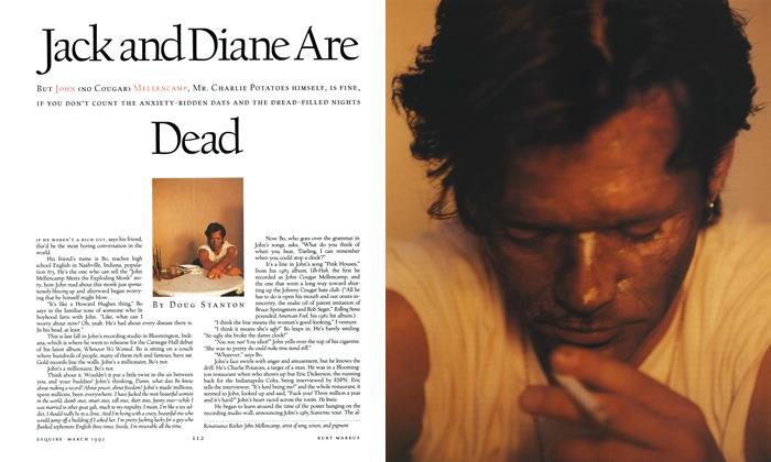 Article Preview: Jack and Diane Are Dead, MARCH 1992 1992 | Esquire