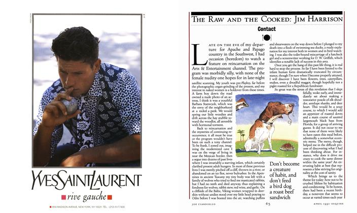 Article Preview: Contact, APRIL 1992 1992 | Esquire