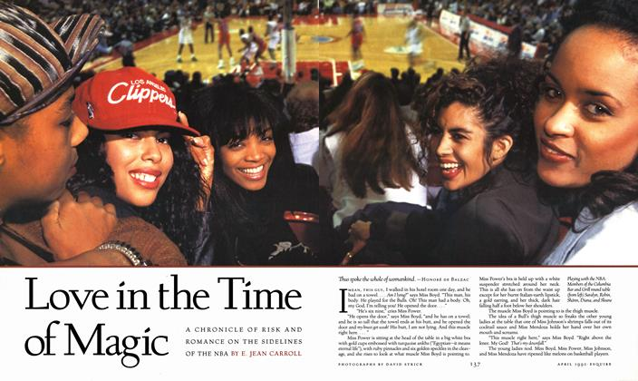 Article Preview: Love in the Time of Magic, APRIL 1992 1992 | Esquire