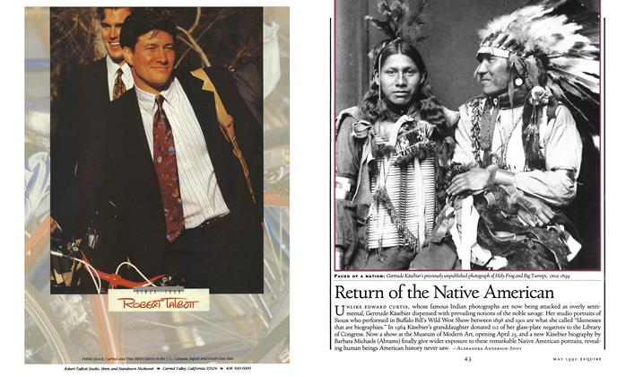 Article Preview: Return of the Native American, MAY 1992 1992 | Esquire