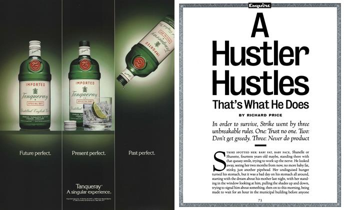 Article Preview: A Hustler Hustles, That's What He Does, May 1992 | Esquire
