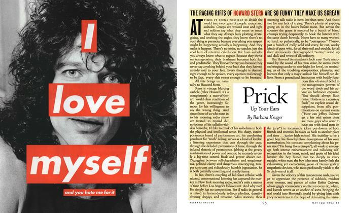 Article Preview: Prick Up Your Ears, May 1992 | Esquire
