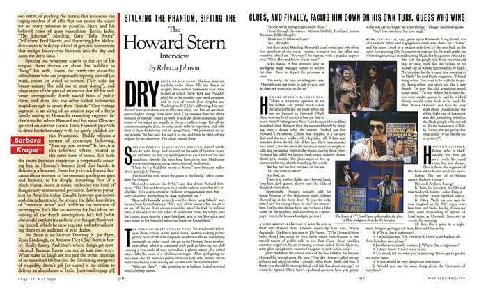 Article Preview: The Howard Stern Interview, May 1992 | Esquire