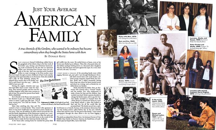 Article Preview: Just Your Average American Family, May 1992 | Esquire