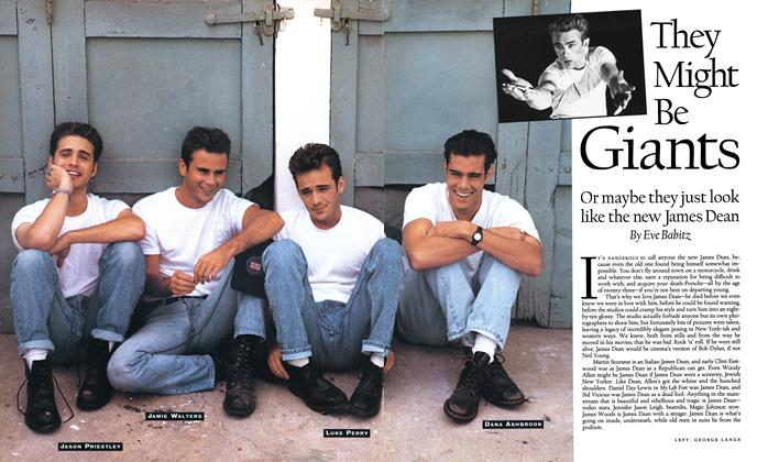 Article Preview: They Might Be Giants, MAY 1992 1992   Esquire