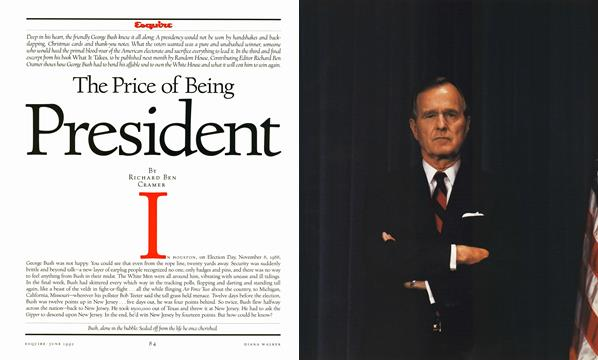 The Price of Being President - June | Esquire