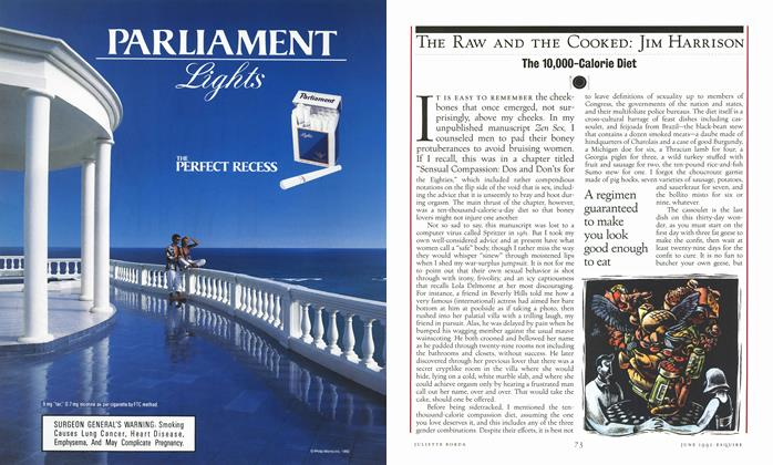 Article Preview: The 10,000-Calorie Diet, JUNE 1992 1992 | Esquire