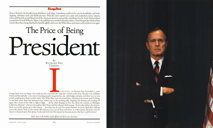 The Price of Being President