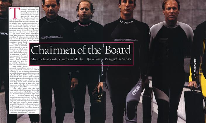 Article Preview: Chairmen of the Board, July 1992 | Esquire